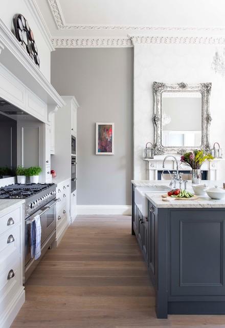 Multi room project in edinburgh georgian town house for Kitchen design edinburgh