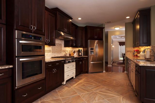 Multi-Station Masterpiece Kitchen eclectic-kitchen