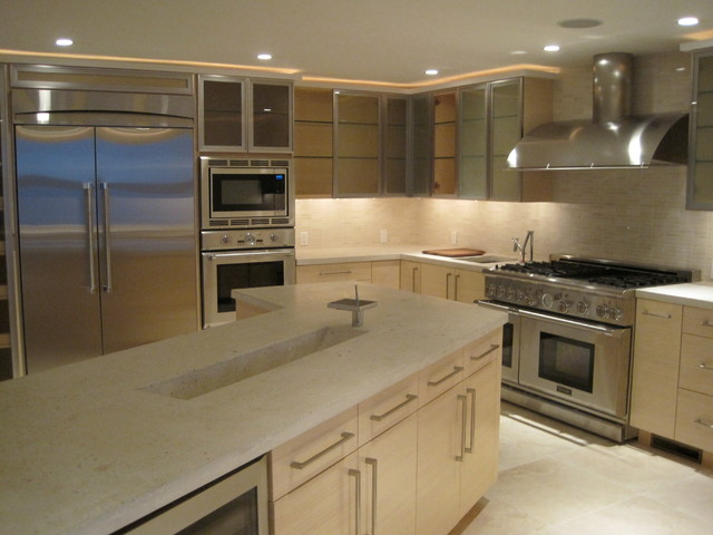 Multiple Project File Contemporary Kitchen New York