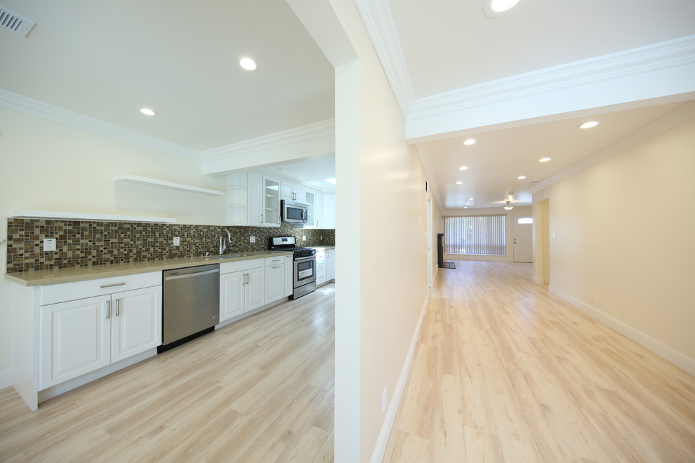 Multiple Rooms Project - Woodland Hills, CA - Transitional ...