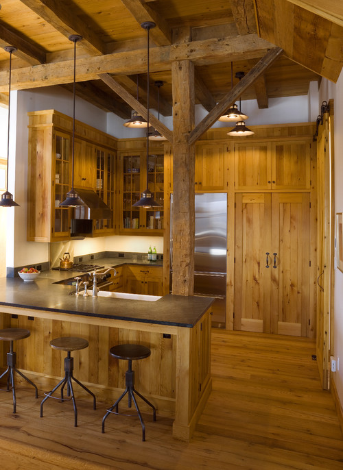 Music Barn traditional kitchen