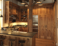 Need Design Ideas For Kitchen Cabinets Made Of Reclaimed Wood