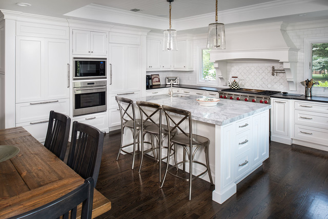muttontown traditional kitchen new york by artista