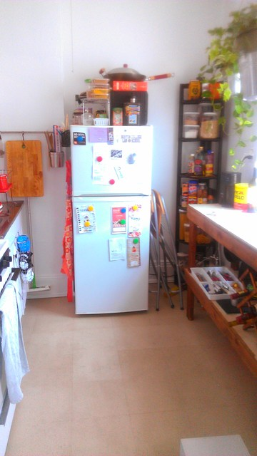 My compact kitchen traditional-kitchen
