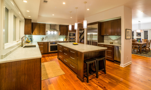 My earthy contemporary home for Earthy kitchen designs
