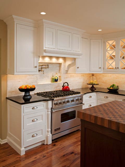 My Family, My Home, My Kitchen traditional-kitchen
