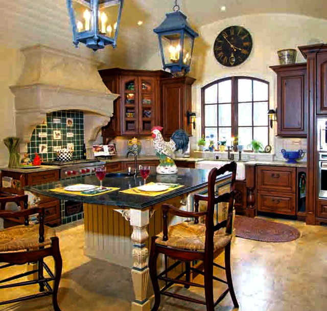 French Country Kitchen Cabinet Colors: My Favorite French Country Kitchen