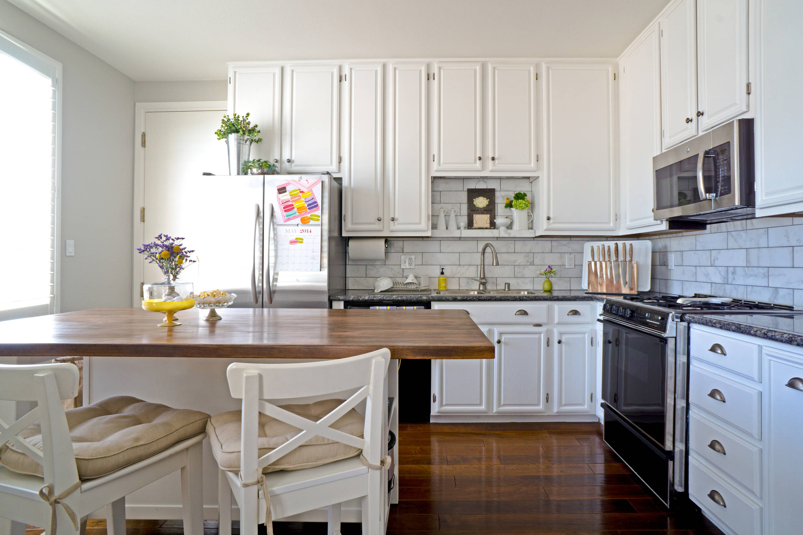 Greenery Above Cabinets Houzz