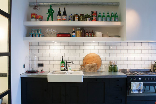 industrial kitchen interiors