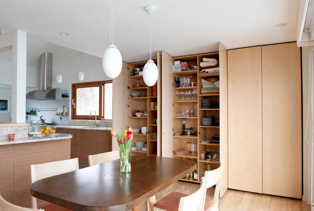 Bonito Cocinas Contemporáneas Houzz Cresta - Ideas para Decoración ...