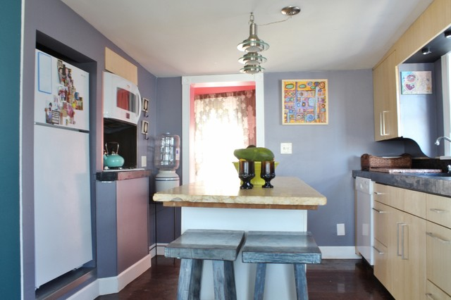 My Houzz: A Place to Create eclectic-kitchen