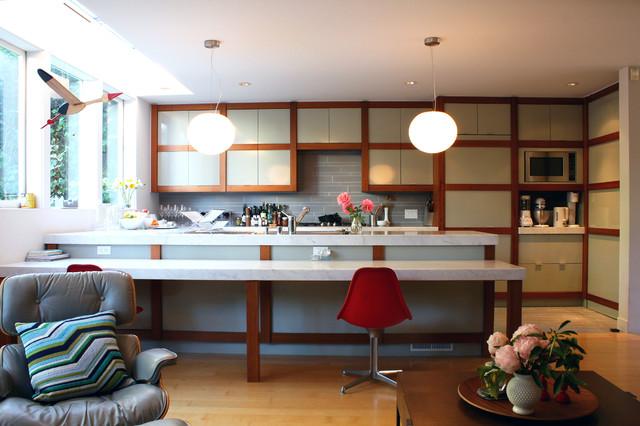 My Houzz: A San Francisco Midcentury Modern Gem midcentury-kitchen