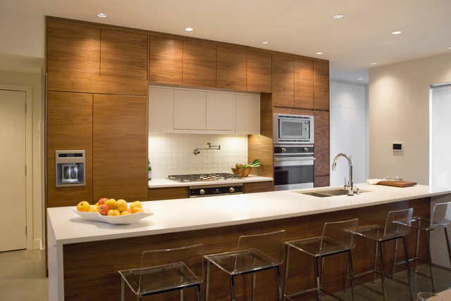 Cool Contemporary Kitchen by Heather Merenda