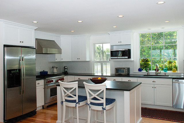 Provincetown Beach House Beach Style Kitchen Boston