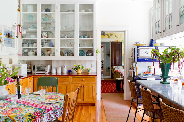 My Houzz: Laurie Rabe eclectic-kitchen