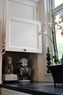 What clever kitchen idea helped make you a neater person?