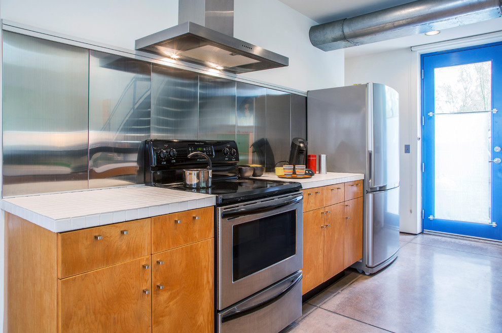 My Houzz Barrio Metalico Industrial Kitchen Other By Margot Hartford Photography Houzz