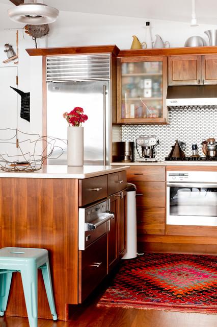 My Houzz: Brin & Nate eclectic-kitchen