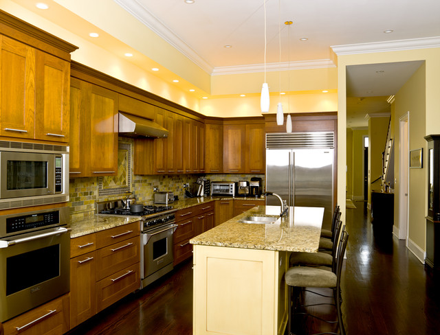 Timeless Elegance traditional kitchen