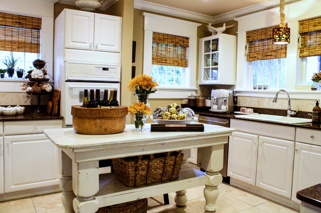 My Houzz: McGeachy Residence transitional-kitchen