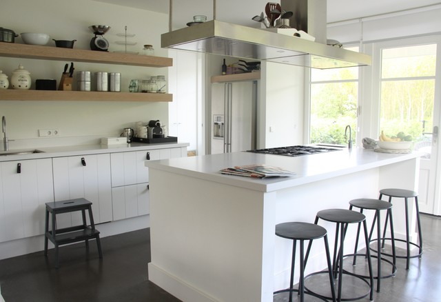 My Houzz Contemporary Country Style In The Netherlands Kitchen