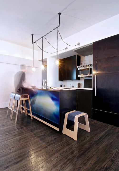 My Houzz: Creative Open-Concept Home in Toronto
