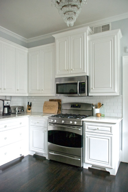 My houzz dallas tx aubrey and kale butcher cl sico for Houzz cocinas