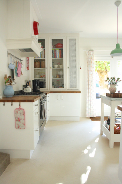 eclectic kitchen by Holly Marder
