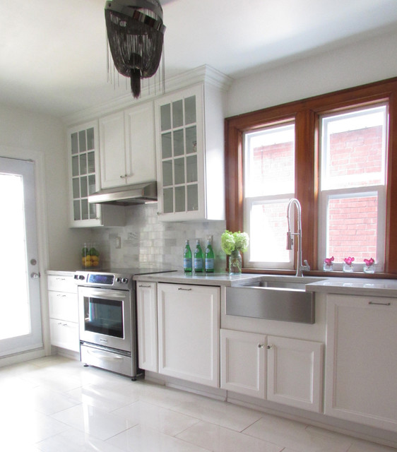 My Houzz: Provence by the lake - Traditional - Kitchen - toronto - by Jenn Hannotte / Hannotte ...