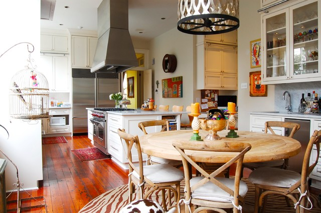 My houzz colorful eclectic style in a traditional new orleans home eclectic kitchen new - New orleans home decor stores property ...