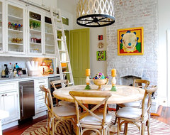 My Houzz: Colorful eclectic style in a traditional New Orleans home eclectic-kitchen