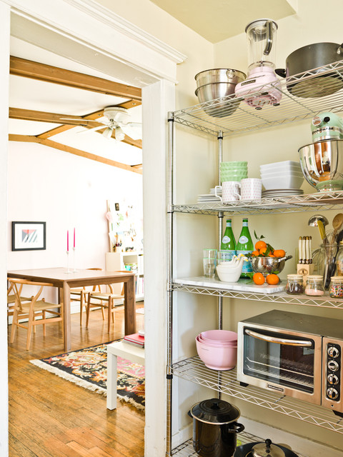 The Everygirl eclectic-kitchen