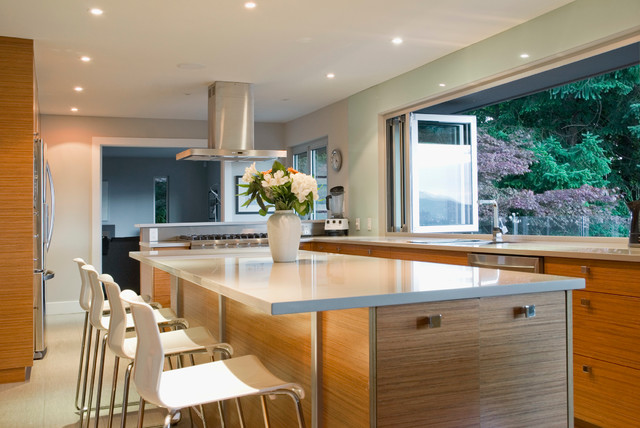 My houzz full tilt reinvention for a 1950s ranch contemporary kitchen vancouver by Modern kitchen design ideas houzz