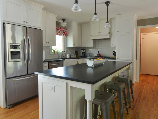 My Houzz Kitchen Remodel Unifies A 1950s Texas Ranch Housetraditional Dallas