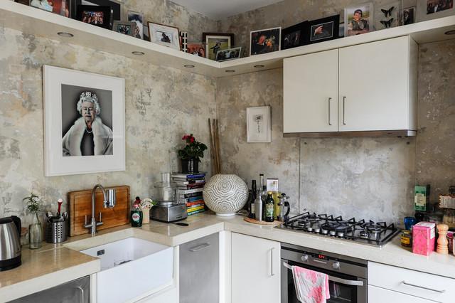 厨房照片墙混搭风格装潢效果图