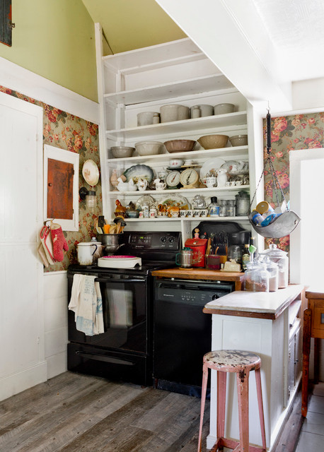 Lanne Shabby Chic Style Kitchen New York By Rikki Snyder