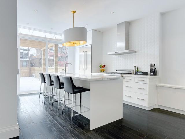 My houzz modern annex renovation contemporain cuisine for Houzz cuisine moderne
