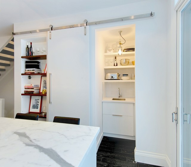 My Houzz: Modern Annex Renovation - Contemporary - Kitchen - Toronto - by Andrew Snow Photography