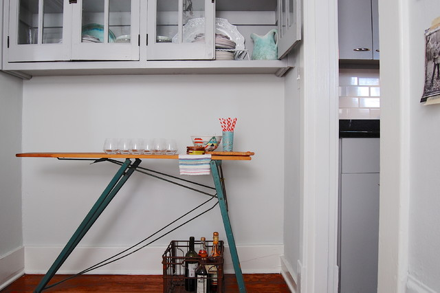 My Houzz: Modern meets Vintage in this Eclectic Nashville Home - Craftsman - Kitchen - new york ...