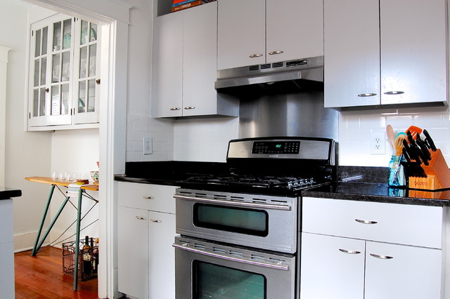 My Houzz: Modern meets Vintage in this Eclectic Nashville Home craftsman-kitchen