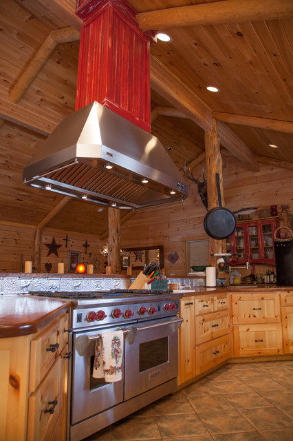 Rustic Kitchen Eclectic Kitchen