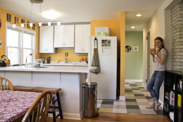 Houzz Tour:  a world traveler and producer nestled in NE Minneapolis eclectic-kitchen
