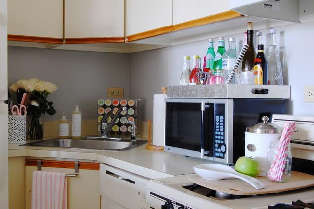 My Houzz: York Avenue Apartment eclectic-kitchen