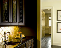 French Country - butlers pantry/bar traditional-kitchen
