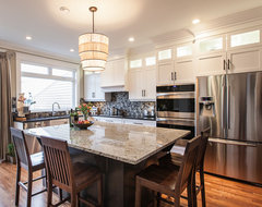 My Houzz: Upscale Townhome With A View In Downtown St. John's traditional-kitchen