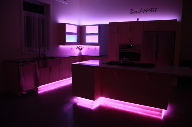 My LED kitchen contemporary-kitchen