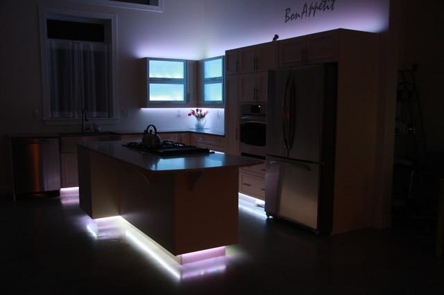 My LED kitchen contemporary-kitchen