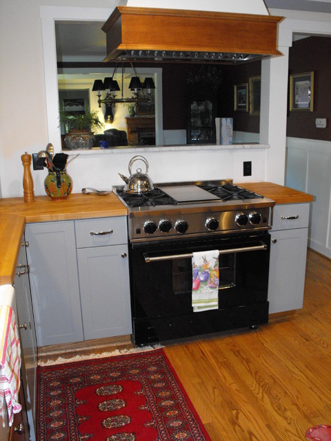 my new grey kitchen in Pittsburgh PA - Traditional - Kitchen - other metro