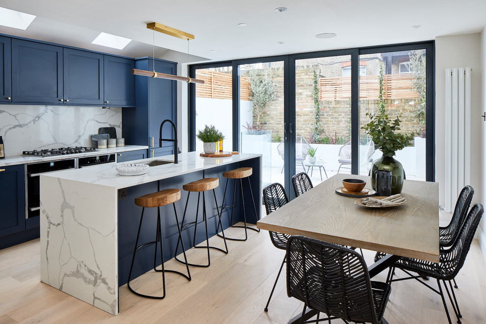Mysore Two Bed Contemporary Kitchen London By Burbeck Project Management
