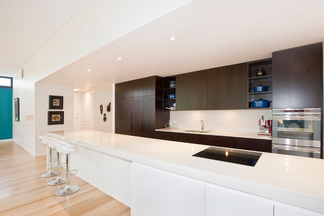 Mytrle Bank Contemporary Kitchen Adelaide By Helenvaughan Architect